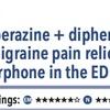 ACPJC:治療 救急外来を受診した片頭痛患者に対する静注プロクロルペラジン+ヒフェンヒドラミンは静注水溶性モルヒネより疼痛緩和効果が高い