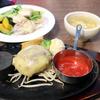 【食事】 ウェスタン牧場@水戸 美明豚のイタリアンハンバーグセット