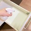 【食器棚のないキッチン】定期的な全部出し+水ピカ掃除ですっきりと。