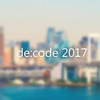 de:code 2017 にCognitive Hands On のスタッフとして参加してきました。