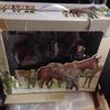 昨日>入居した古物様方々です。(^o^)/3:その他、代表:馬フィギュア