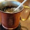 アイスコーヒーが銅マグで出てくるコーヒーチェーン店