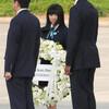 広島訪問のオバマ氏と対面 被爆3世「感動」 - 東京新聞(2016年5月29日)