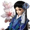 青い花のドールフォト