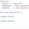 【VSCode】Visual Studio Codeでregionを使う
