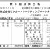 株式会社リクルートマーケティングパートナーズ 第6期決算公告