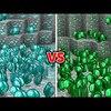 無限ダイヤ vs 無限エメラルド vs 無限金でエンドラ討伐競争?!minecraft