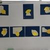 軽度認知機能障害回復プログラムなつめで臨床美術「輝くレモン」を行いました