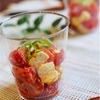 kiriクリームチーズとミニトマトのアラビアータ風サラダのレシピ