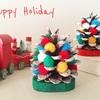 断捨離工作 : 簡単まつぼっくりクリスマスツリー作った!