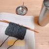 お香と編み物タイム