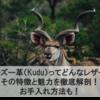 クーズー革(Kudu)ってどんなレザー?その特徴と魅力を徹底解剖!お手入れ方法も!|エキゾチックレザーまとめ