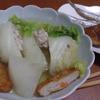 幸運な病のレシピ( 985 )昼:白菜ロール入りおでん、ししゃも