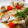 真鯛とホンビノス貝の日本酒和クアパッツァ