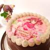 プリロールの智絵里ちゃんケーキをお迎えした