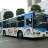 川崎市営バス 藤子・F・不二雄ミュージアムラッピングバス