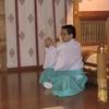 疫病鎮静と罹患者平癒を祈願して、神道行法の「鎮魂」を行ないました