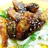 揚げない『鯖の竜田揚げ』ヤンニョムでピリ辛♪野菜もごはんも進みますよ~☆