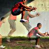 サッカーにおけるプライオメトリックトレーニングの貢献(ジャンプとホップの跳躍高が増加、接地時間短縮、力の立ち上がり速度向上、方向転換能力に寄与する)