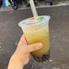 【タピ活】台湾の士林夜市でタピオカを飲んだの。