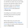 アメリカの出願大学から続々と届いてます、合否発表日の告知メール