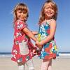 アメリカ、女の子とママの夏のファッション2018+子ども服ブランド