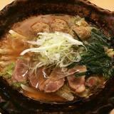 ★★たっぷり葱の鴨鍋定食[大戸屋]