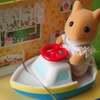 シルバニア 赤ちゃんハウス UK ネズミの赤ちゃんと船