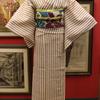 トリコロール紗小紋×百合絽名古屋帯