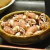 豊洲の「米花」でムシガレイ一夜干し、根菜と永平寺揚げの煮物、ほたるいか。