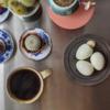 6/10(水)茹で卵、エビドリアと外堀の状況について