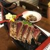 ●高知県ひろめ市場「やいろ亭・あげや」のかつお塩たたきetc.....