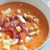 Salmorejo スペインの冷たい濃厚トマトスープ