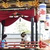 お旅まつりの子供歌舞伎を日中に見に行く