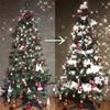 クリスマスツリーに綿を雪のように飾りつけると、一気に冬っぽくなって好き。