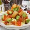 【レシピ】数の子とアボカドの柚子胡椒めんつゆ漬け