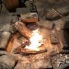 焚き火料理秋の陣:秋刀魚vs牛ランプの死闘