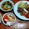 幸運な病のレシピ( 2475 )夜:昼の揚げ物、汁と牛ハラミ焼き肉で一杯