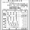 GMO NIKKO株式会社 第12期決算公告