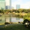 浜離宮恩賜庭園を散歩がてら観光した【のんびりひととき】