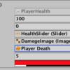 【Unity公式チュートリアル】 サバイバルシューター part.7 プレイヤーの体力を管理する!