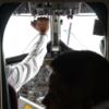 ネパ-ル滞在日記 続編 その22回目  ネパ-ルの交通と荷運び ネパ-ルの飛行機の機窓から見える景色 その二回目