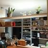 DIYでキッチンカウンターの上に棚を作ってみました