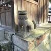 本妙寺栗毛堂脇の狛犬