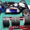 【Mini-Z】ファイブミニッツジムカーナのテスト  ~フローリング路面のタイヤはコレで決まり!~
