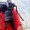 【固定カメラ】カメラホルスター コットン社 ストラップショットを装着 (COTTON StrapShot EV1 Holster)