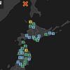 地震速報 異常地震発生!サハリン西方沖 マグニチュード6.6 異常震域深さ610km