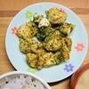 作るのめんどくさい日のご飯。簡単にできる鶏むね肉の青のりとチーズのオーブン焼き。