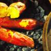 ダッチオーブン…ホクホクの石焼きいもだから、甘さが違う。