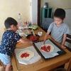 子供達と自家製ピザを作ってみた【育児】【体験】